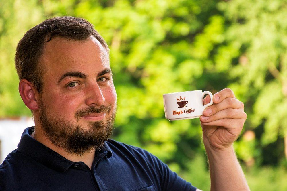 Jan Král, King's Coffee - pražírna kávy