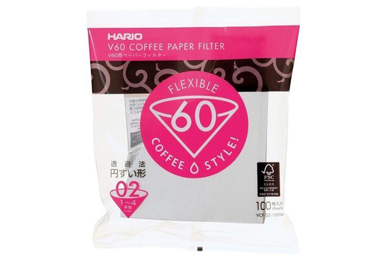 Dripper Hario V60 - filtrovaná káva