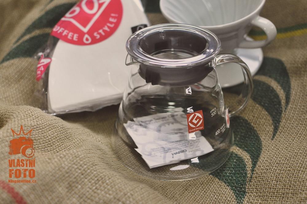 King's Coffee - filtrovací set