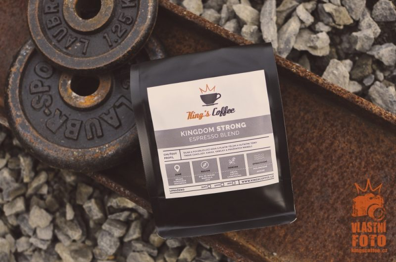 Kingdom Strong Espresso Blend - King's Coffee